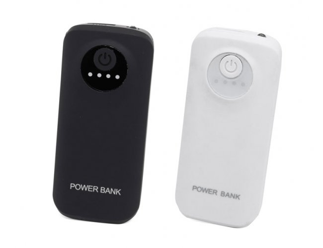 Power Bank com Luz 5600mAh