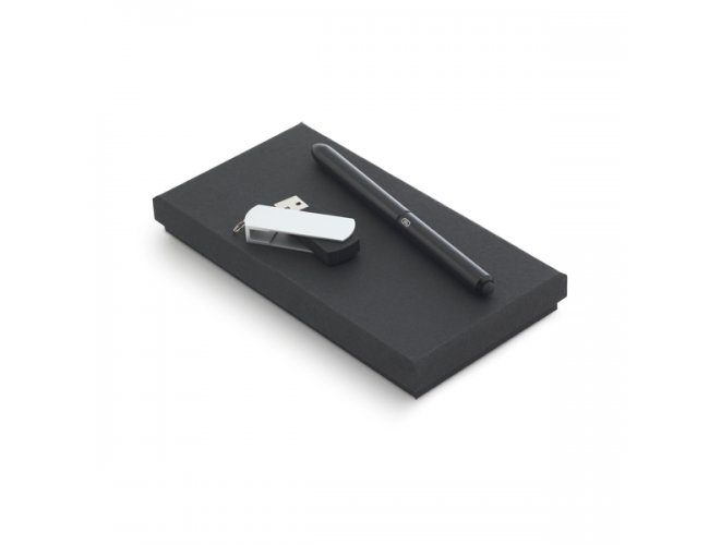 Conjunto Esferográfica e Pen Drive 8GB STORY 57334-004