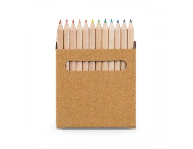 Caixa de Cartão - 12 Mini Lápis de Cor 91747-004