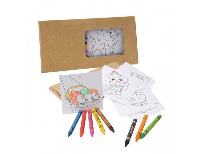 Kit para Pintar em Caixa de Cartão 91755-004