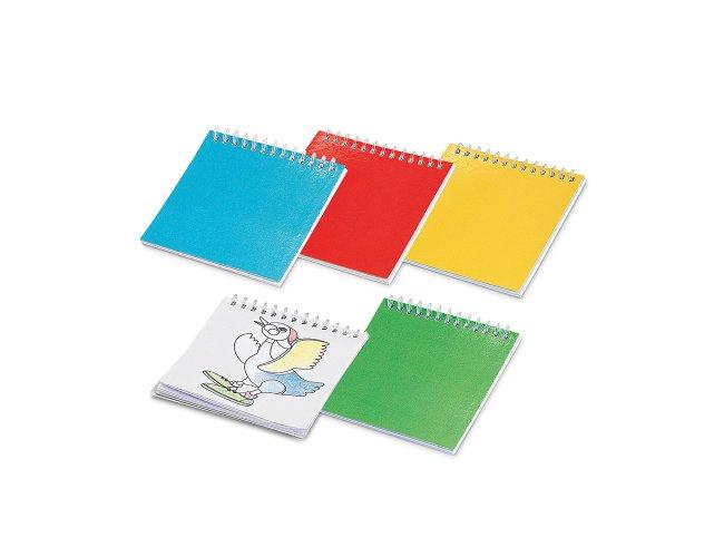 Caderno para colorir Cuckoo 93466-004