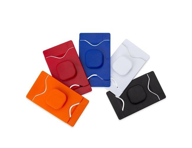 Adesivo Porta Cartão com Suporte para Celular 14412-001