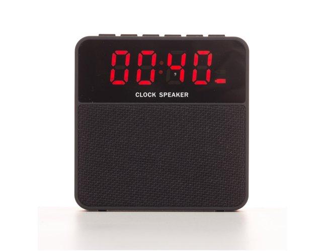 Caixa de Som Bluetooth com Relógio Digital 2071-001