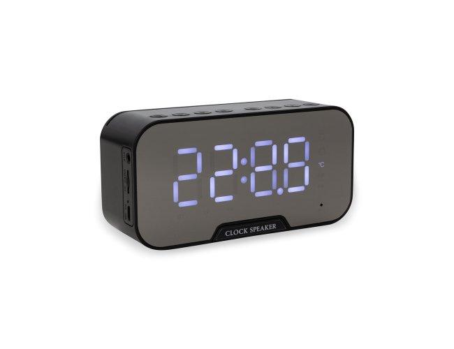 Caixa de Som Multimídia com Relógio e Suporte para Celular 03019-001