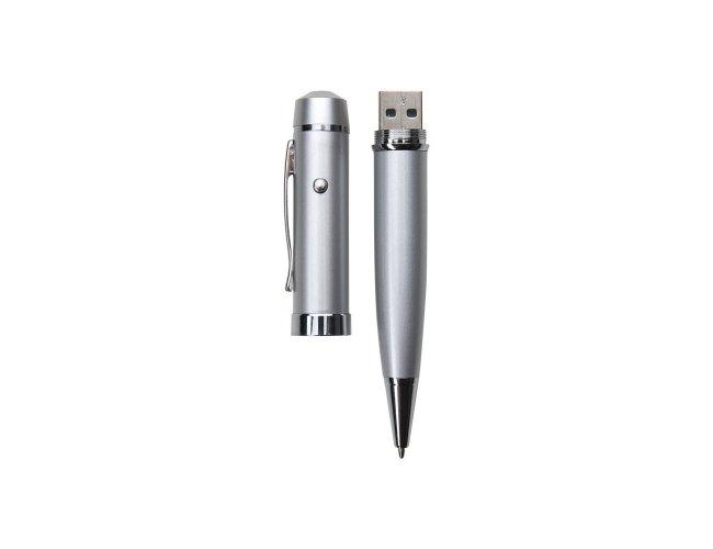 Caneta Pen Drive 8GB e Laser 7V2-8GB-001