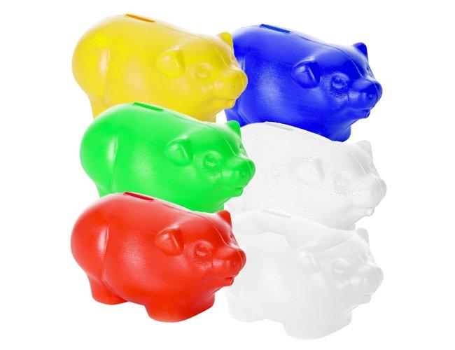 Cofre Plástico Porquinho 7000-001