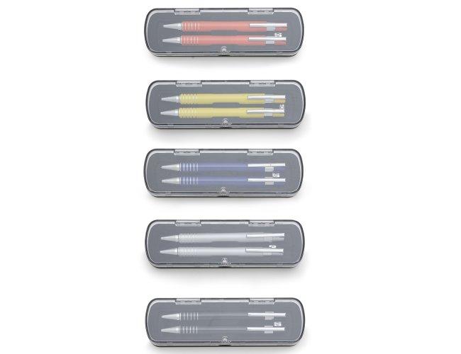 Conjunto Caneta e Lapiseira Semi-Metal 12609-001