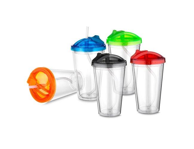 Copo Plástico 470ml Parede Dupla CO6021-005