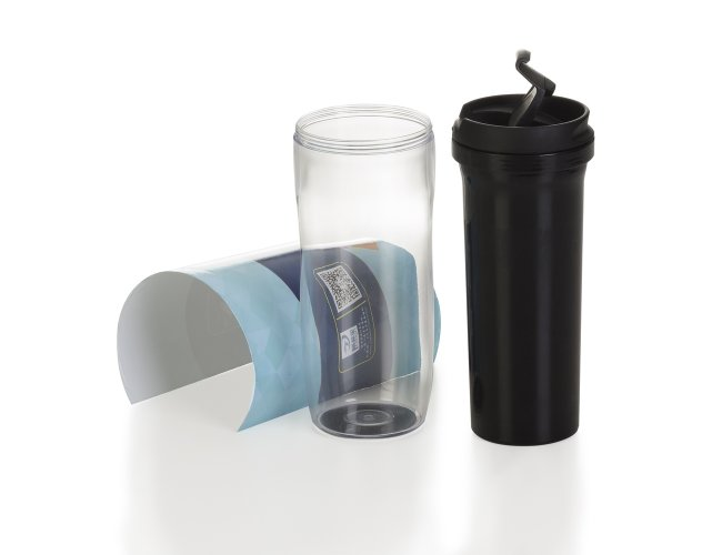 Copo Plástico para Café 350ml Porta Foto 12777-001