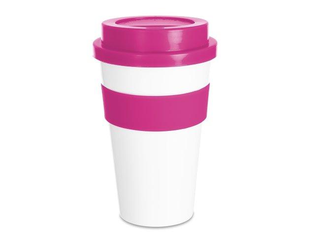 Copo Plástico para Café 480ml 18541-ROS-001