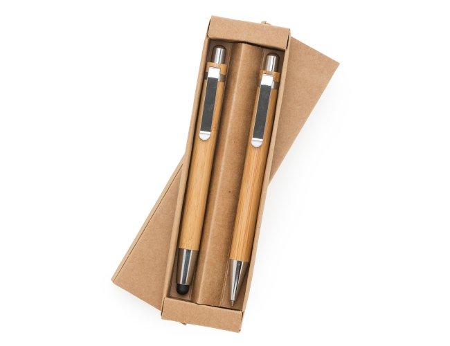 Kit Ecológico Caneta e Lapiseira Bambu 13796-001