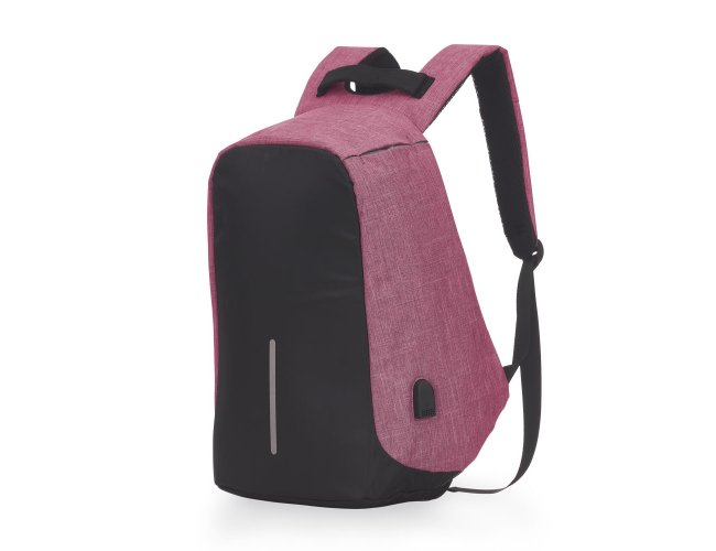 Mochila Anti-Furto USB 14290-ROS-001