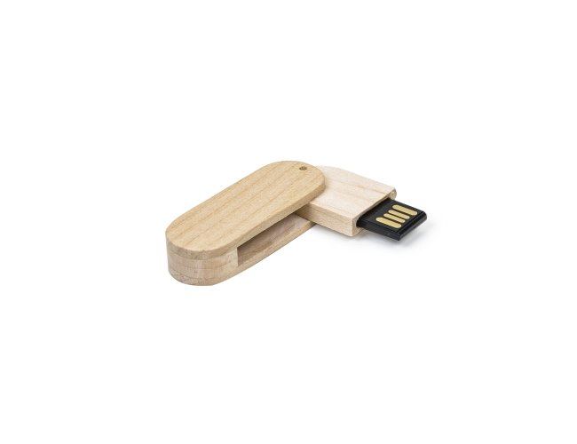 Pen Drive 4GB Bambu Giratório 033-001