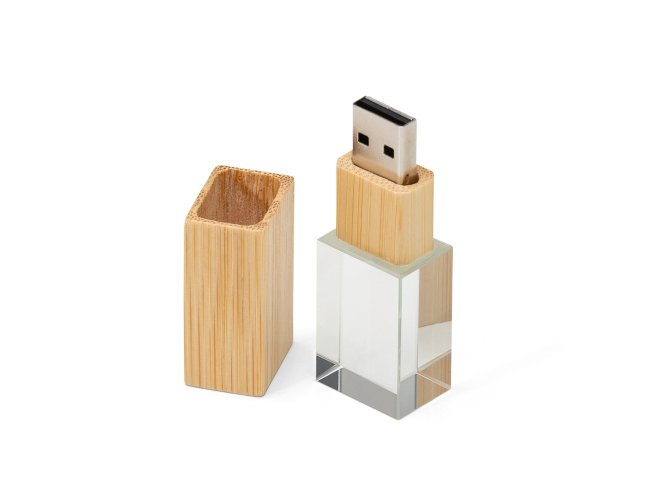 Pen Drive Cristal Bambu 4GB 064-4GB-001