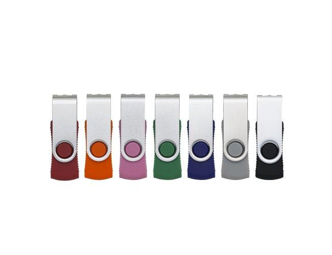 Pen Drive RM Giratório Metal 8GB 015-RM 8GB-001