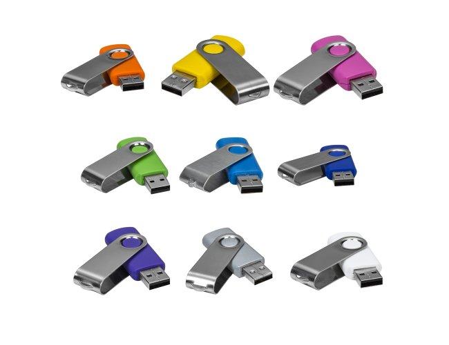 Pen Drive SM Giratório Metal 016-SM 8GB-001