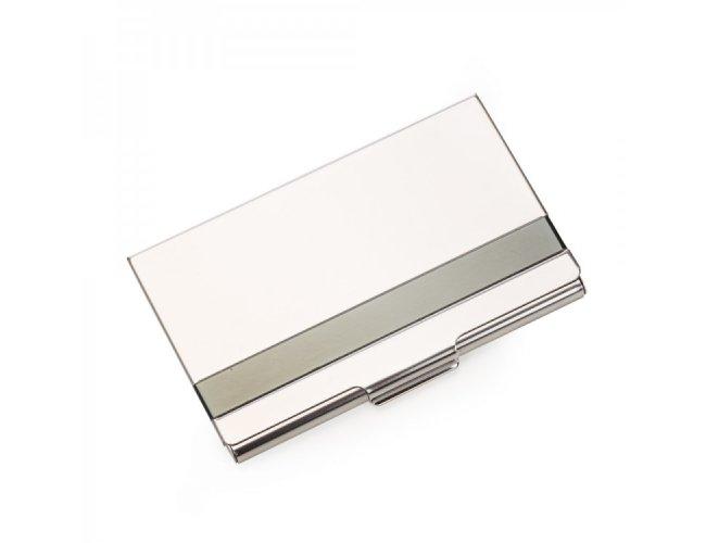 Porta Cartões de aço inox 13029-001