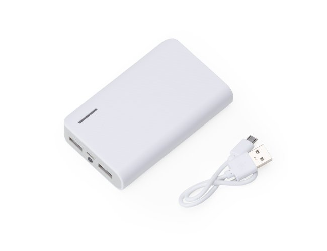 Power Bank Plástico com Lanterna 2063-001